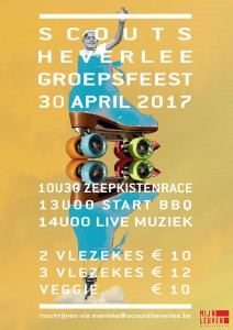 flyer groepsfeest